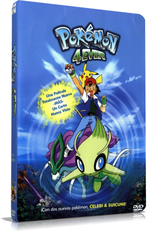 Megafilecenter Pokémon 4 Celebi La Voz Del Bosque Hd Y Full Hd Trial Audio