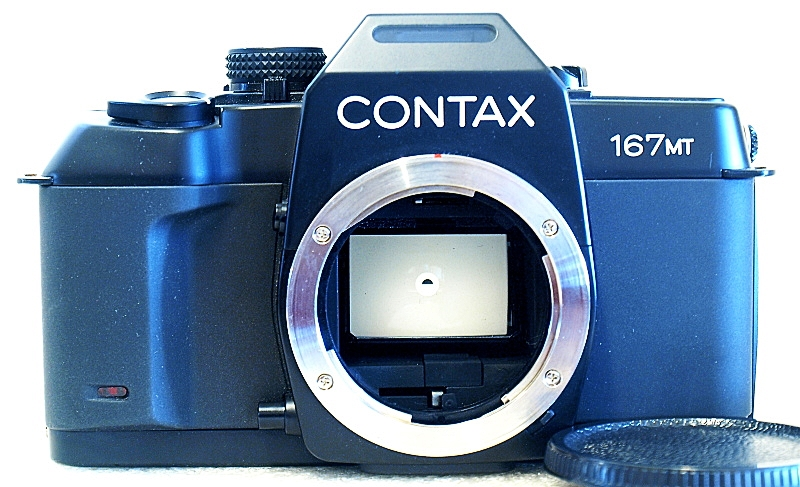 Contax 167 MT, Front