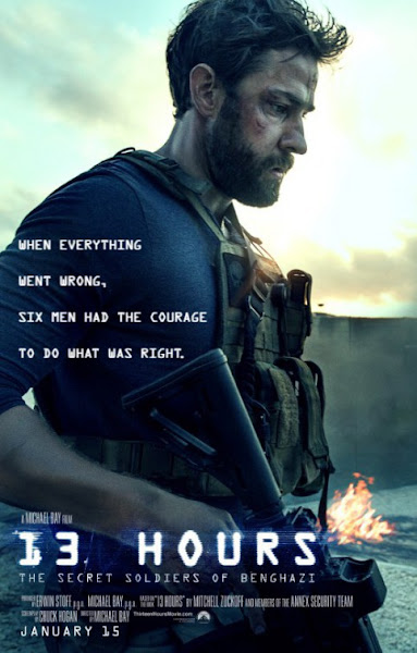 Poster Of 13 Hours 2016 720p Hindi BRRip Dual Audio Full Movie Download