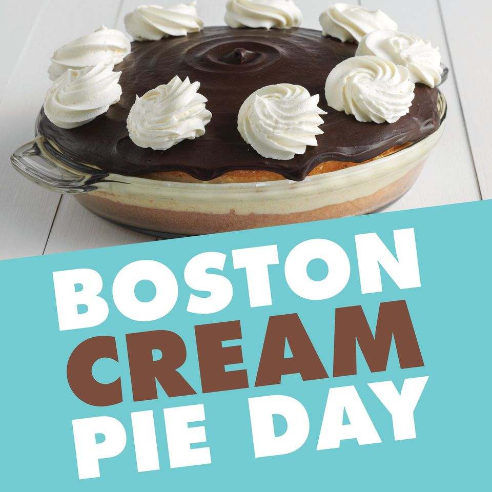 National Boston Cream Pie Day Wishes Awesome Picture