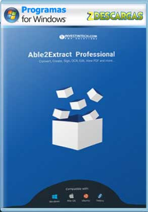 Descargar Able2Extract Professional Full Español mega y google drive /