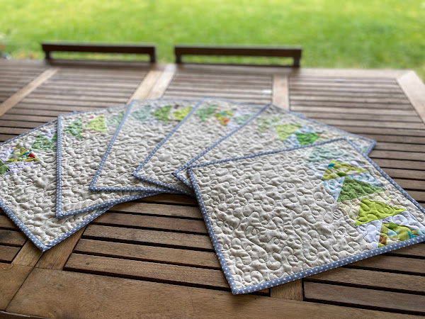 Green Geese Table Mats