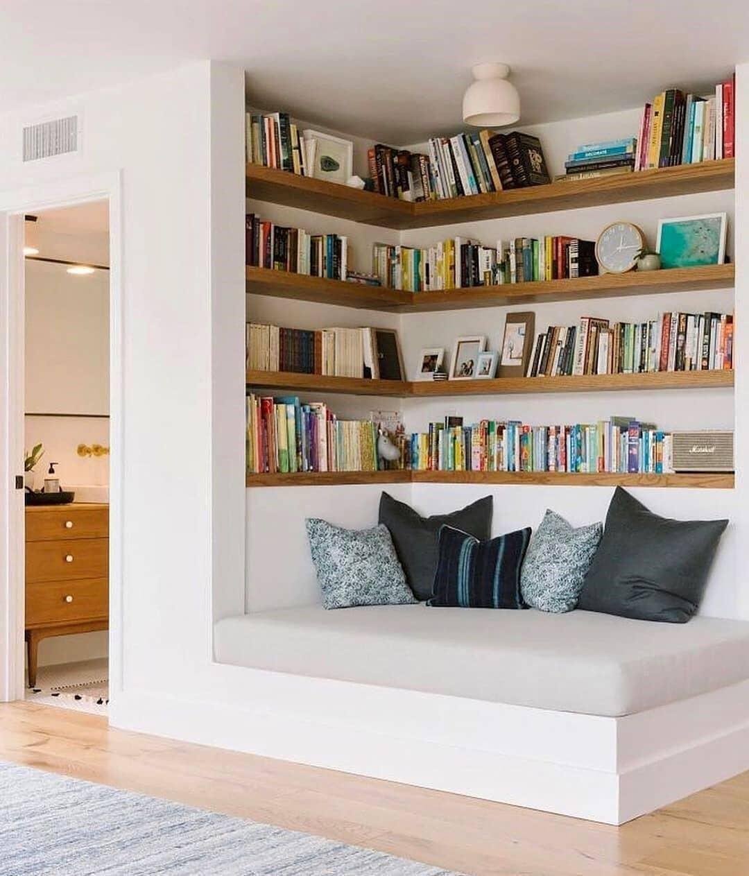 Desain Rak Buku Yang Unik dan Menarik Untuk Rumah ...