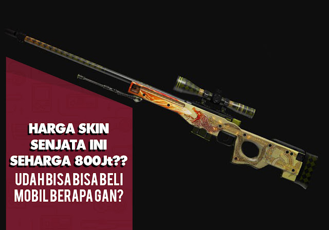 Skin Senjata Termahal Pada Game FPS