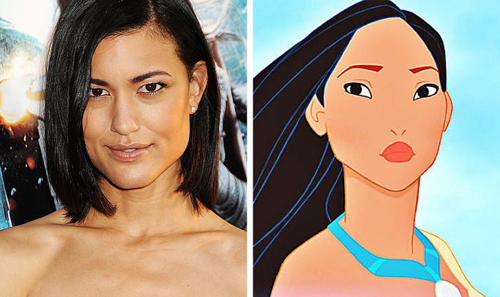Thanks to the attractive appearance of Julia Jones, the world met Pocahontas from the animated series of the same name.