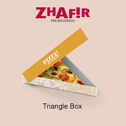 Cetak Kemasan Triangle Box