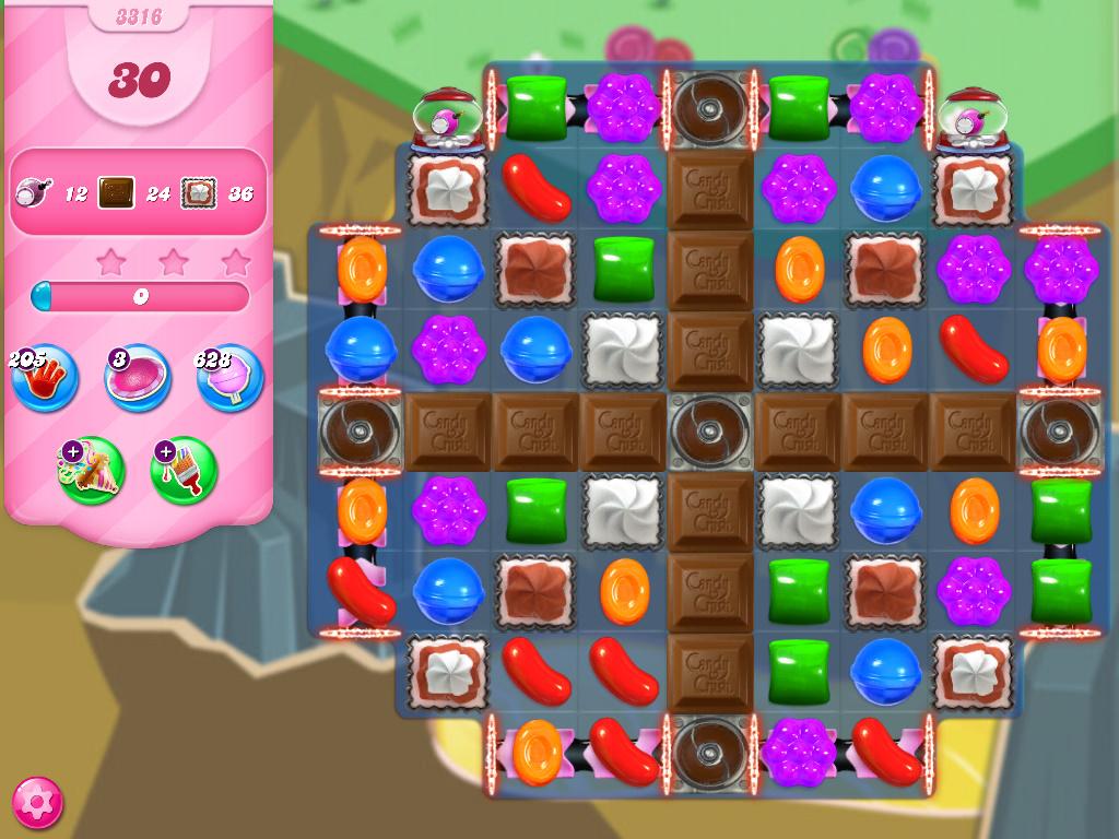Candy Crush Saga level 3316