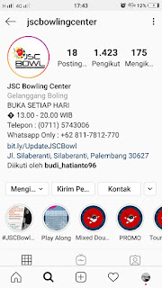 Instagram jsc bowling center
