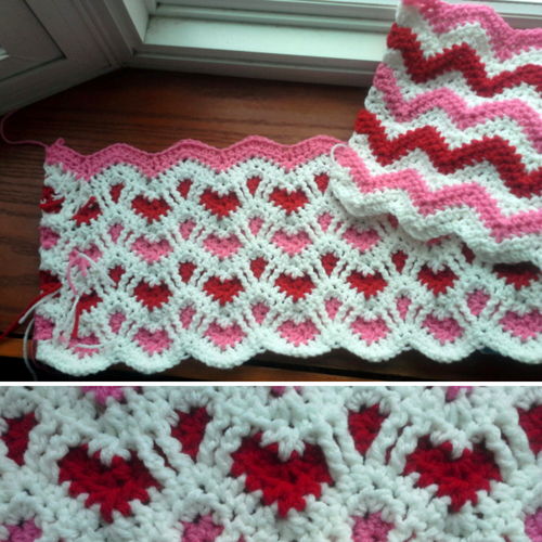 Reversible Afghan - Tutorial