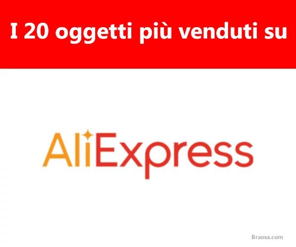 20 articoli più venduti su Aliexpress