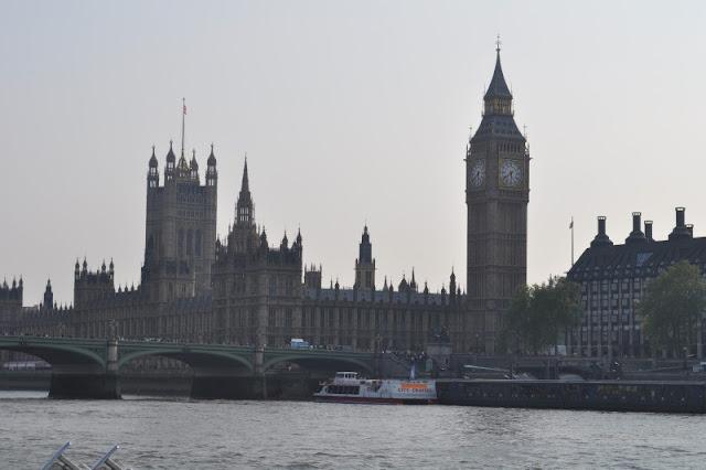 Big Ben e as Casas do Parlamento em Londres