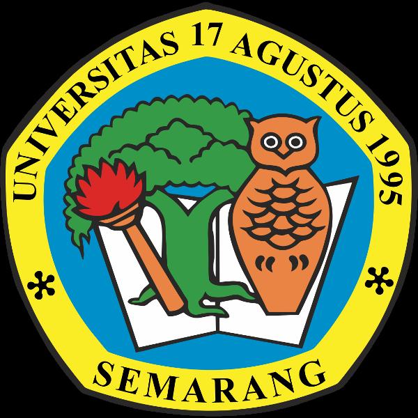 Cara Pendaftaran Online Penerimaan Mahasiswa Baru (PMB) Universitas 17 Agustus 1945 (Untag) Semarang - Logo Universitas 17 Agustus 1945 (Untag) Semarang PNG JPG
