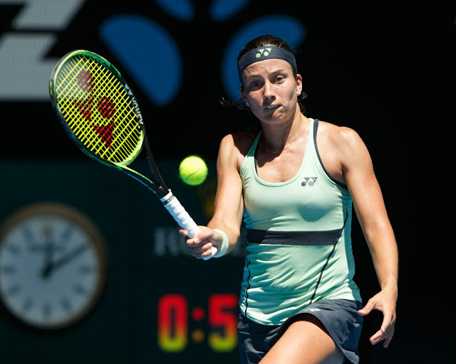 Anastasija Sevastova Australian Open Tennis Tournament 2018 Melbourne