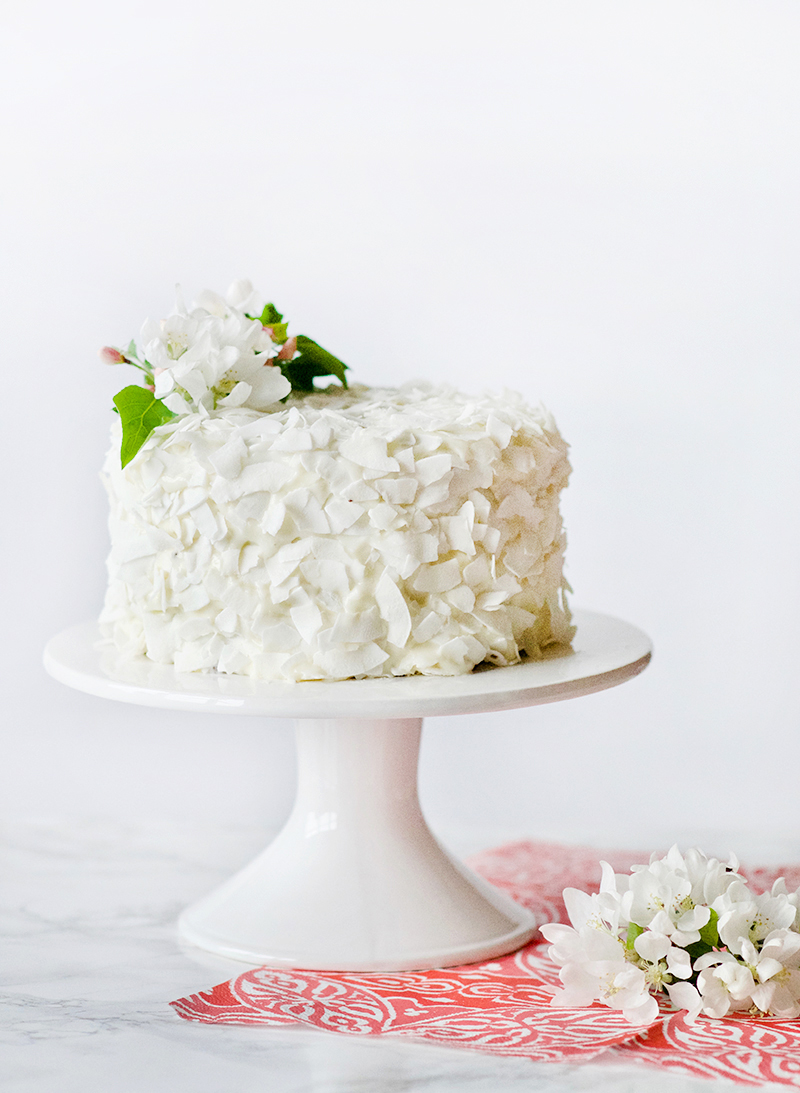 Chocolate Coconut Cake with Coconut Frosting | Obsessive Cooking Disorder