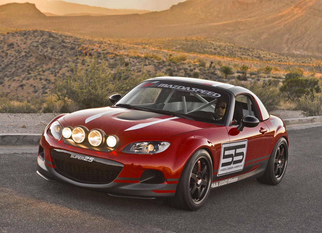 Worlds Fastest Miata? Mazda Unveils MX-5 GT Racer