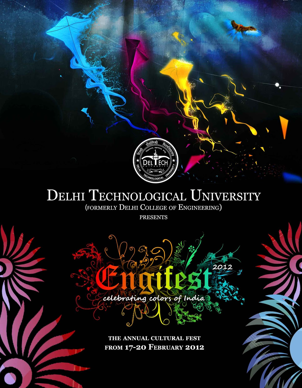 Engifest 2012- Celebrating Colors of India | The Tech Sauce