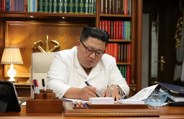 Kim Jong Un's open letter to all party members in Pyongyang