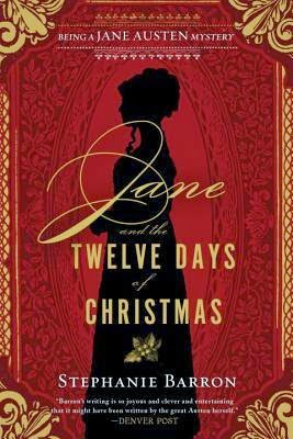 Book cover: Jane and the Twelve Days of Christmas by Stephanie Barron