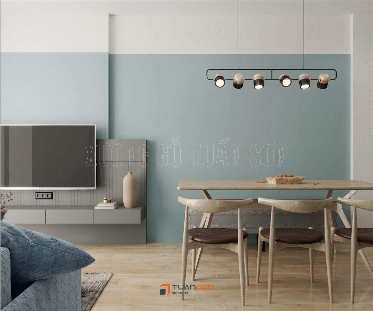 Thiết kế nội thất căn 3 phòng ngủ (75m2) S1.09-11 Vinhomes Ocean Park