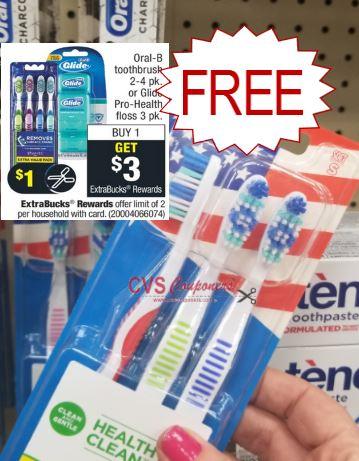 FREE Oral-B Toothbrush CVS Deal 9-29-10-5