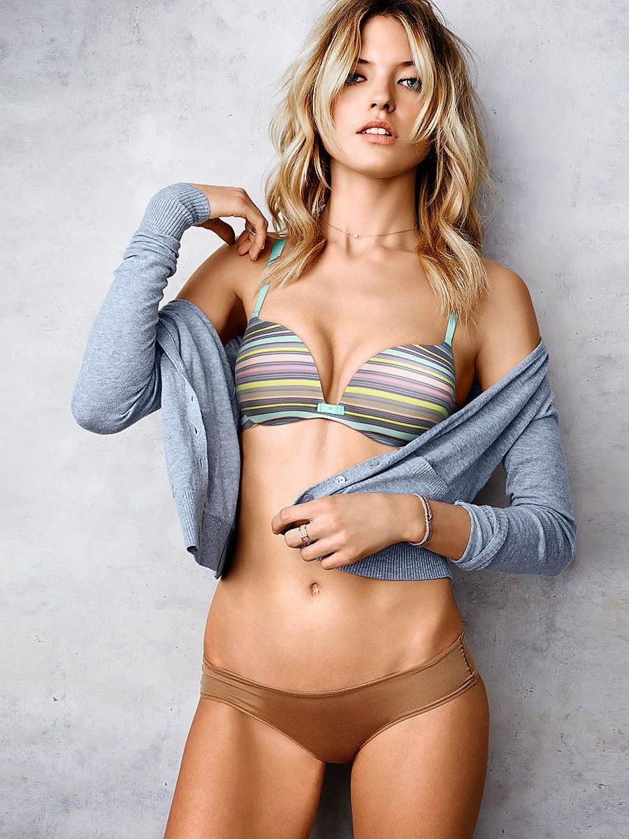 Gorgeous Model Lana Zakocela Nude Lingerie Photos