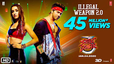 Illegal Weapon 2.0 Song Lyrics - Jasmine Sandlas | Street Dancer 3D