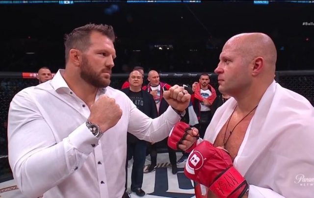Fedor Emelianenko vs. Ryan Bader Images and photos