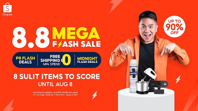 8 Sulit Items Under ₱800 to Score at the Shopee 8.8 Mega Flash Deals Sale