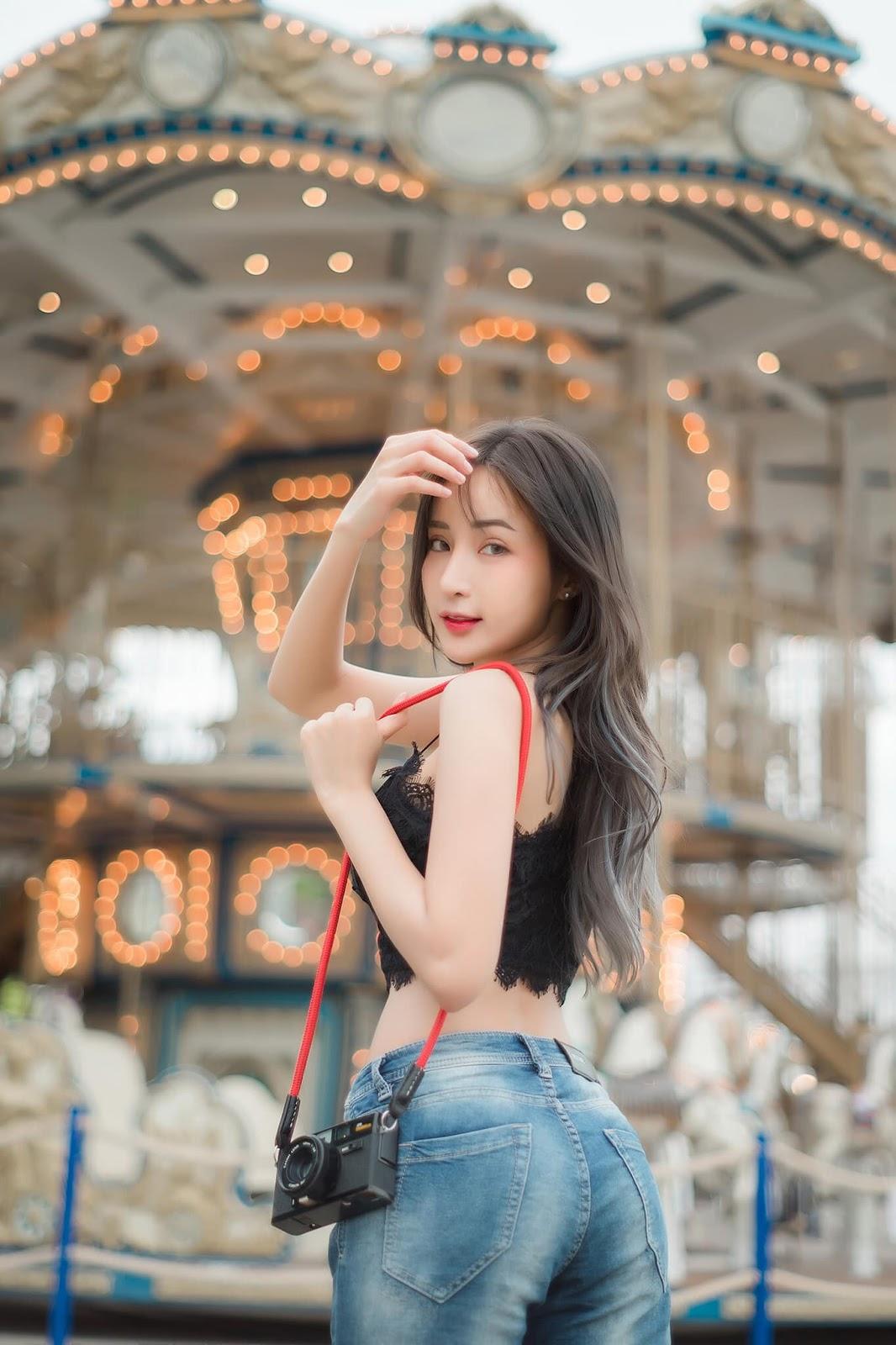 Thailand Hot Girl - Thanyarat Charoenpornkittada - My Memory Childhood Park - TruePic.net - Picture 6