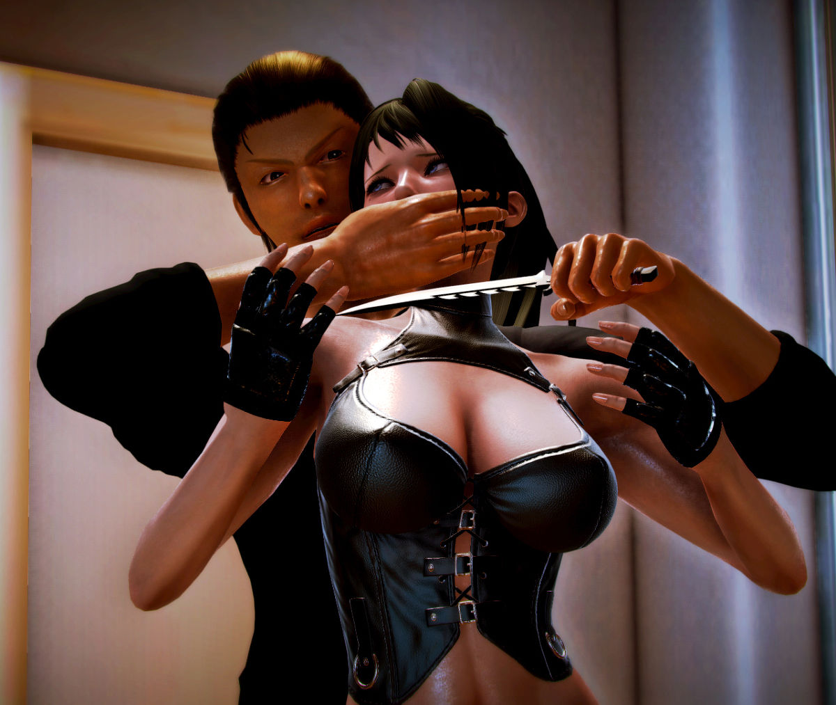 Hình ảnh 020 in Truyện Hentai 3D Nữ chiến binh Ryona