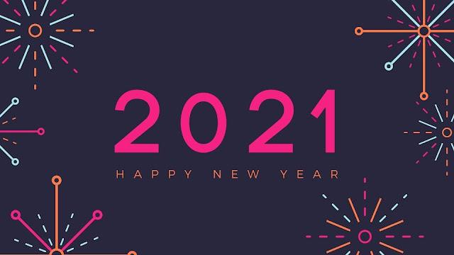 new year wallpaper 2021