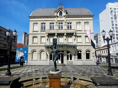 Curitiba Free Walking pelo Centro histórico - Paço da Liberdade
