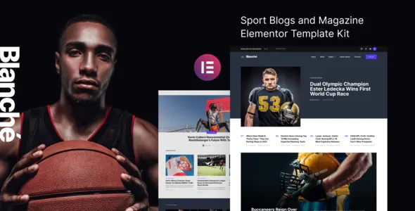 Best Sports Blog and Magazine Elementor Template Kit