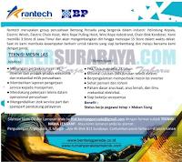 Karir Surabaya Terbaru di Bentang Persada (Rantech) Oktober 2019