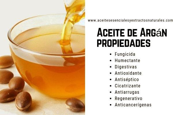 El el Aceite de Argán Puro tiene Propiedades Fungicidas, Humectantes, Digestivas