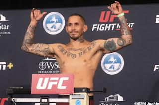 Marlon Vera UFC On ESPN 8 Weigh In