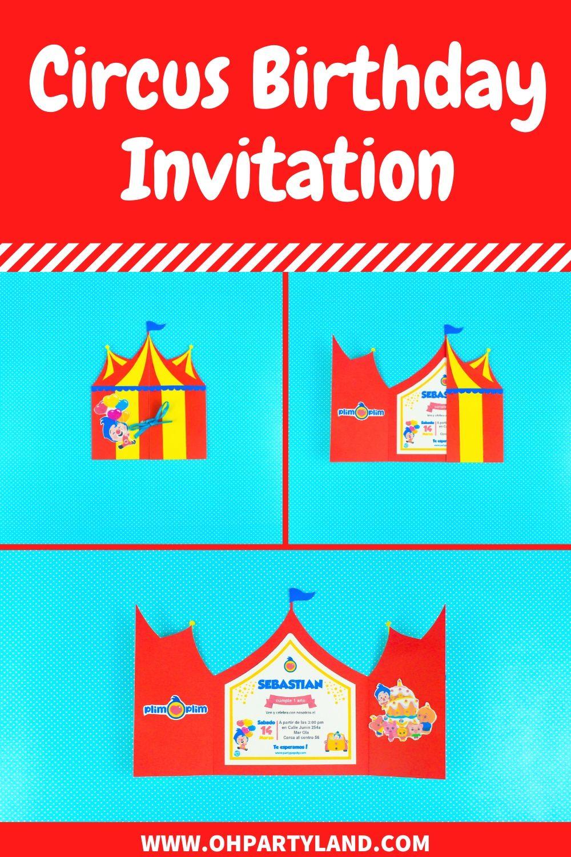 circus-invitation