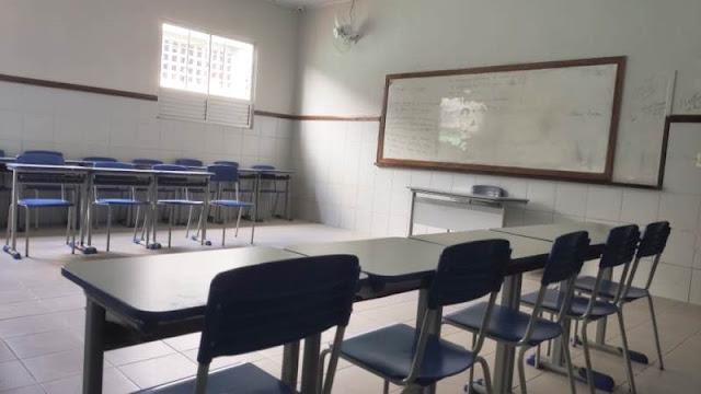 Suspensão de aulas na Bahia