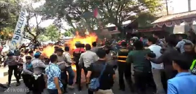 Terpapar Paham Rad1kal, Polisi Dalami Oknum Mahasiswa Penyebab Polisi Terbakar