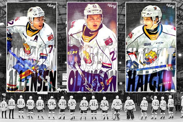 2021-22 Barrie Colts Cellphone Wallpapers.