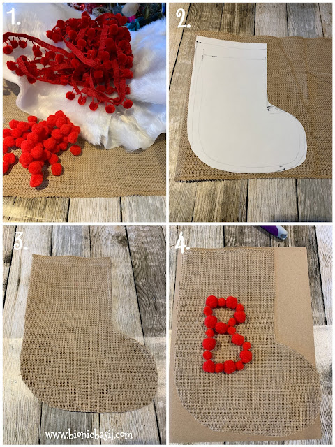 How to make Basil's Catmas Stocking - Crafting with Cats ©BionicBasil®