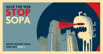 Unidos contra la #SOPA