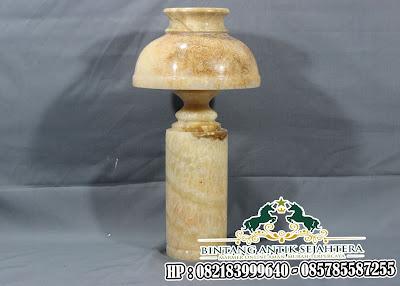 Kap Lampu Meja Gaya Vintage