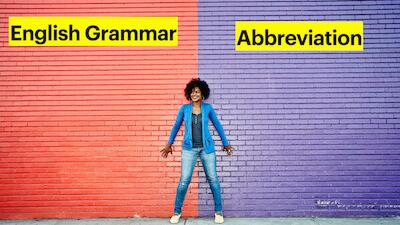 Abbreviation, Acronym and Initialism