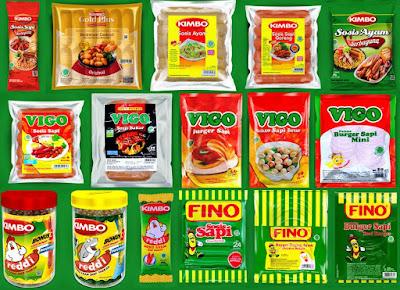 distributor sosis Kimbo, Vigo, Fino