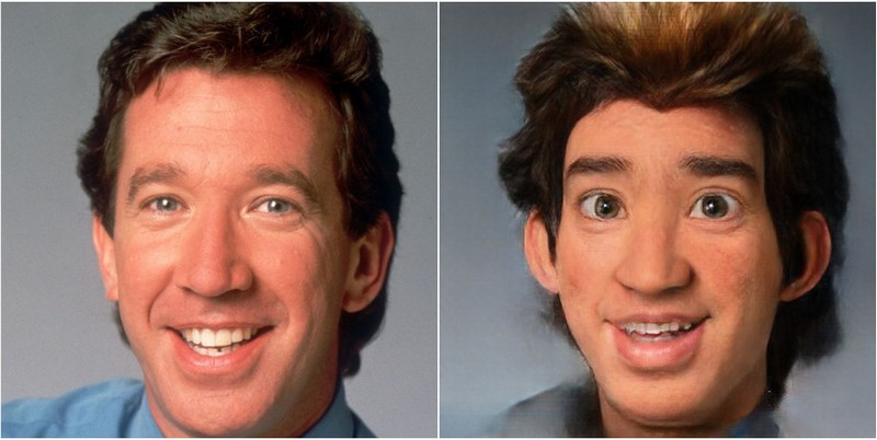 Tim Allen Transform into Disney characters using neural networks