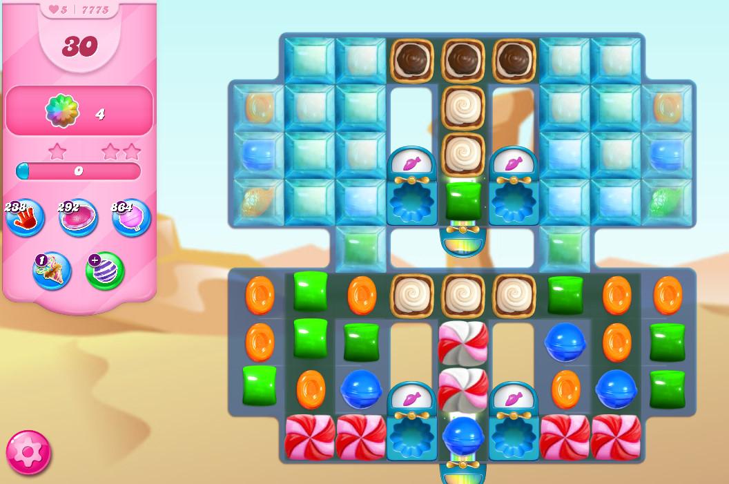 Candy Crush Saga level 7775