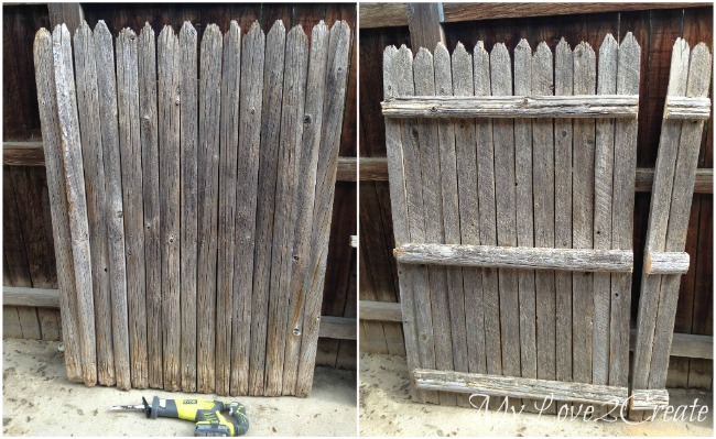 Rustic Fence Sections
