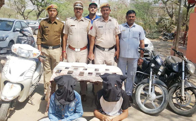 Crime Branch vandalized three cases of double snatching