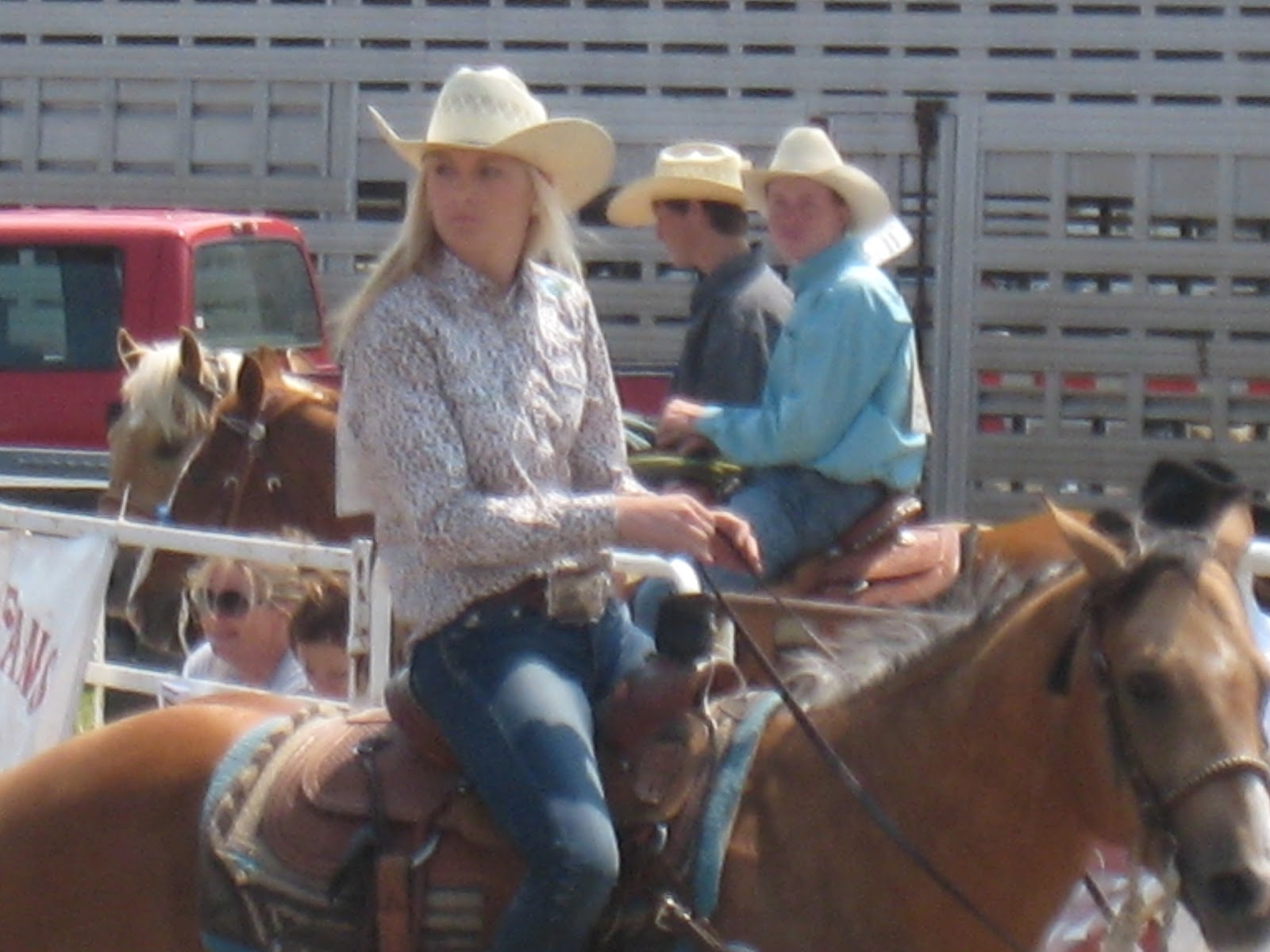 Walker Girls Go West Out West With The Cowboys